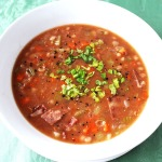 Bean with Turkey Bacon Soup