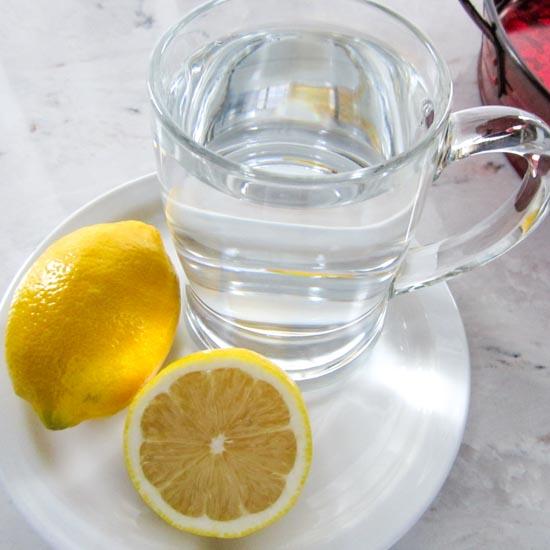 Healthy Lemon Water