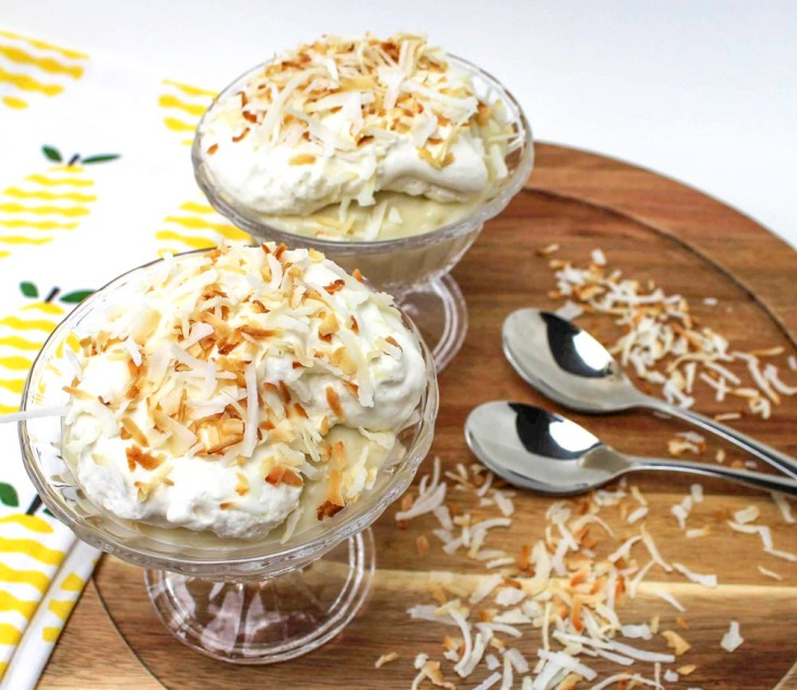 Rich Coconut Cream Pie Pudding