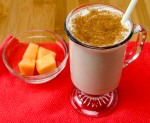 Cantaloupe and Banana Protein Rich Smoothie