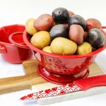 Red, White and Blue Baby Potatoes