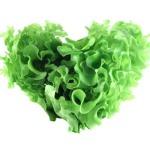 Heart Shaped Lettuce