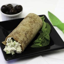 Chicken Salad In A Whole Grain Wrap