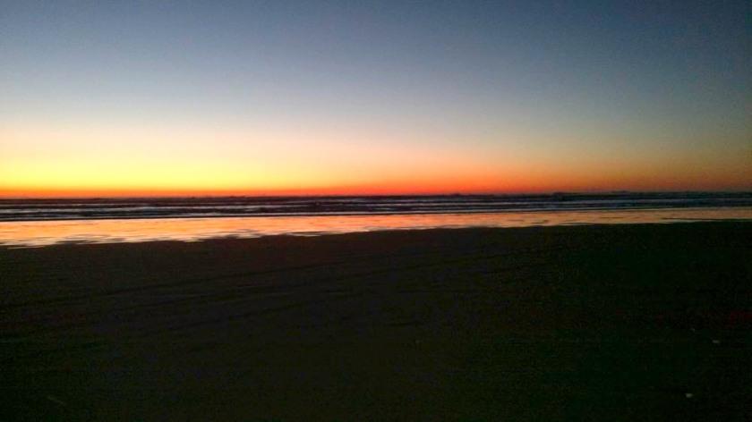 Fall Season Sunset