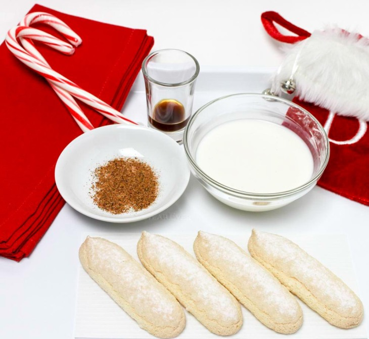 Holiday Eggnog Pudding with Fragrant Nutmet