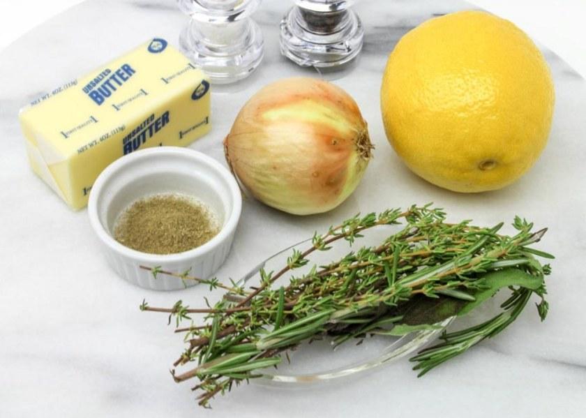 Easy Roasted Turkey With Fresh Herbs