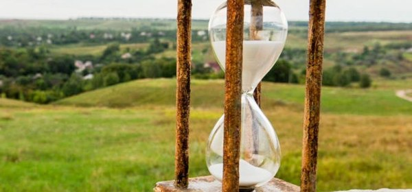 Hourglass as a Symbol of the Passing Time