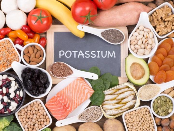 Various Potassium Food Sources