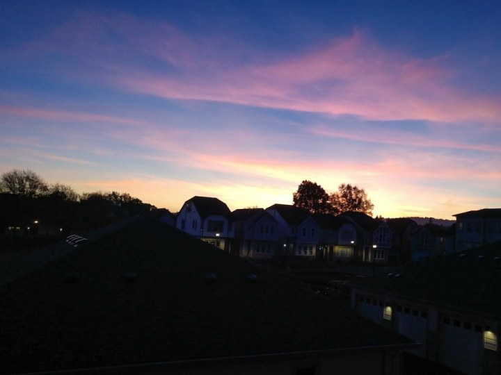 Mom's Sunset