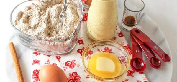 Spicy Eggnog Pancakes