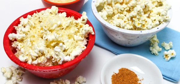Popcorn with Asiago Cheese or Season Salt