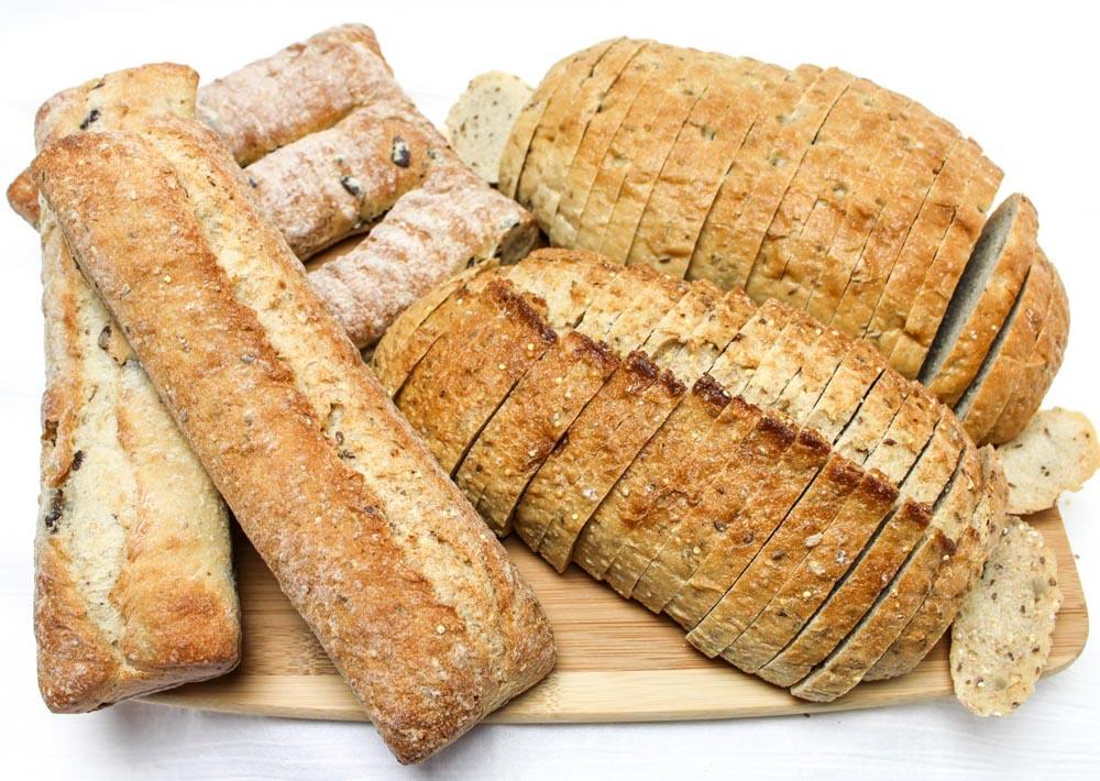 100% Whole Multi-Grain Artisan Bread