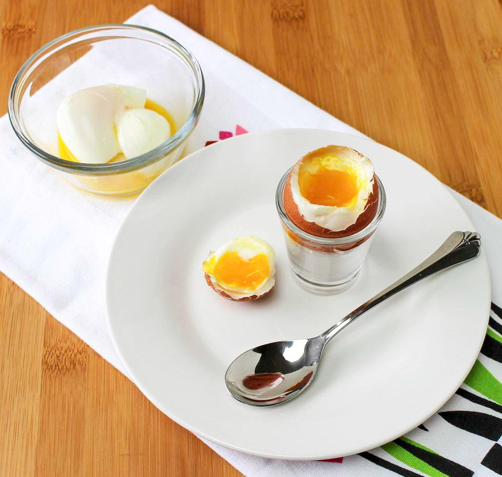 Perfect Soft Cooked Egg