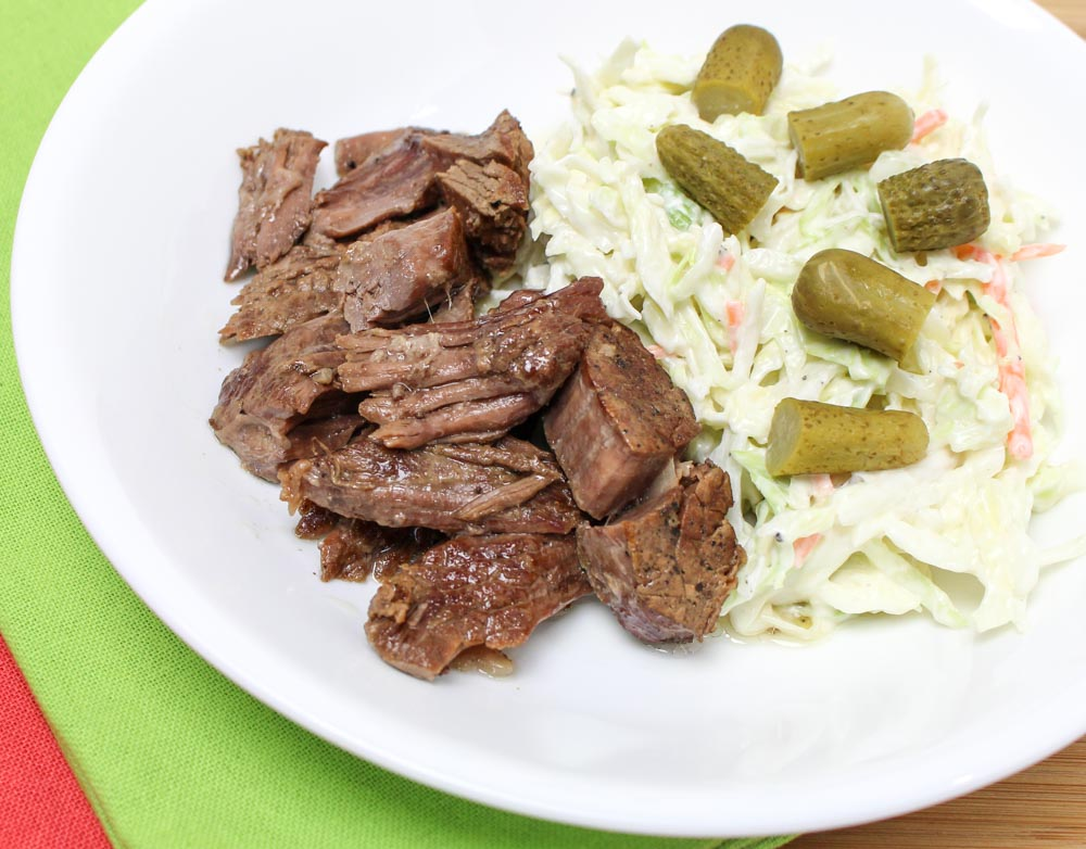 Simple Cabbage Coleslaw With Healthy A Yogurt Dressing