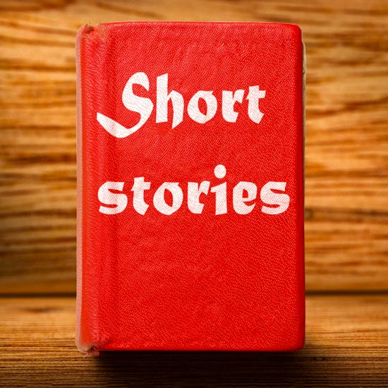 Old red short stories book