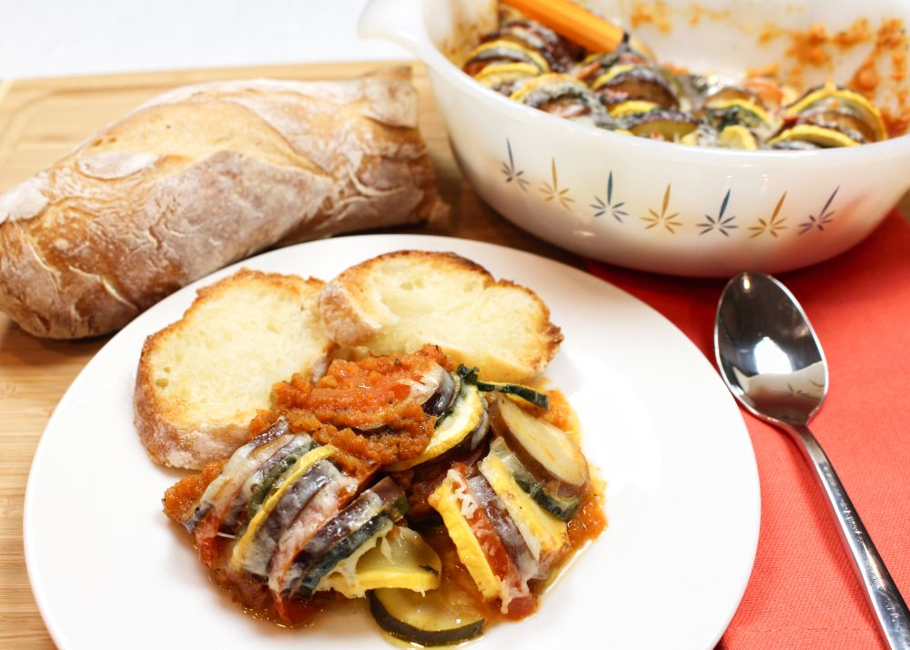 Carly's Flavorful Healthy Ratatouille