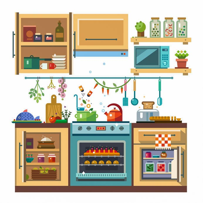 Home kitchenware food and devices