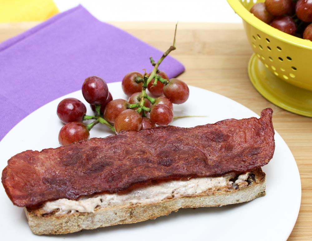Honey Cream Cheese, Artisan Bread and Turkey Bacon