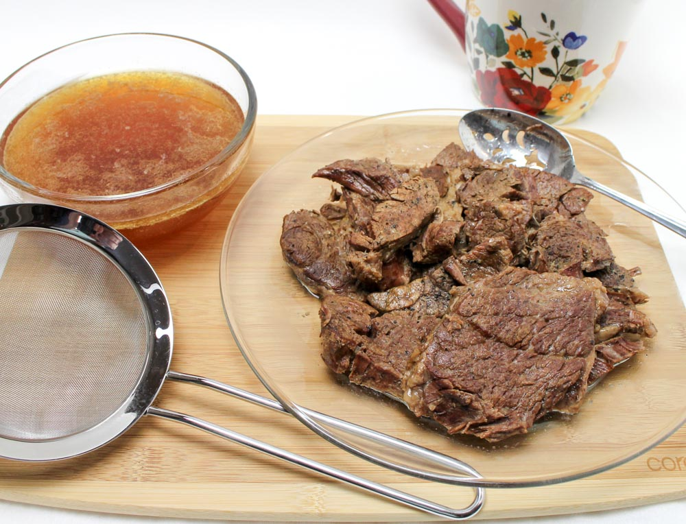 Instant Pot Chuck Steak in India Pale Ale Beer