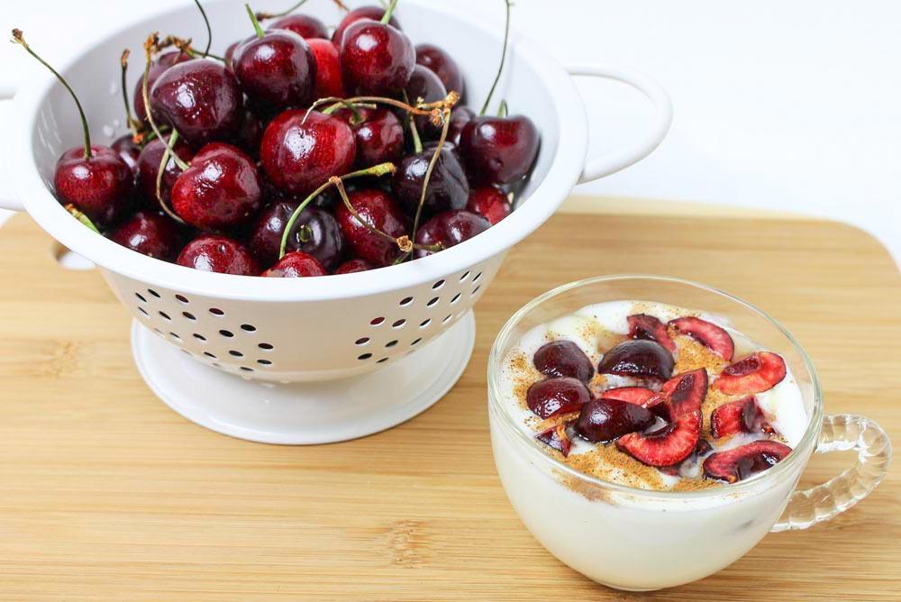 Cold Sweet Dark Cherries