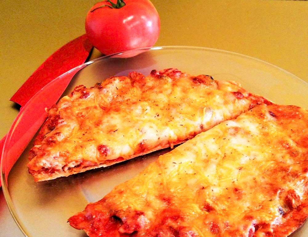 Sausage Tortilla Pizza