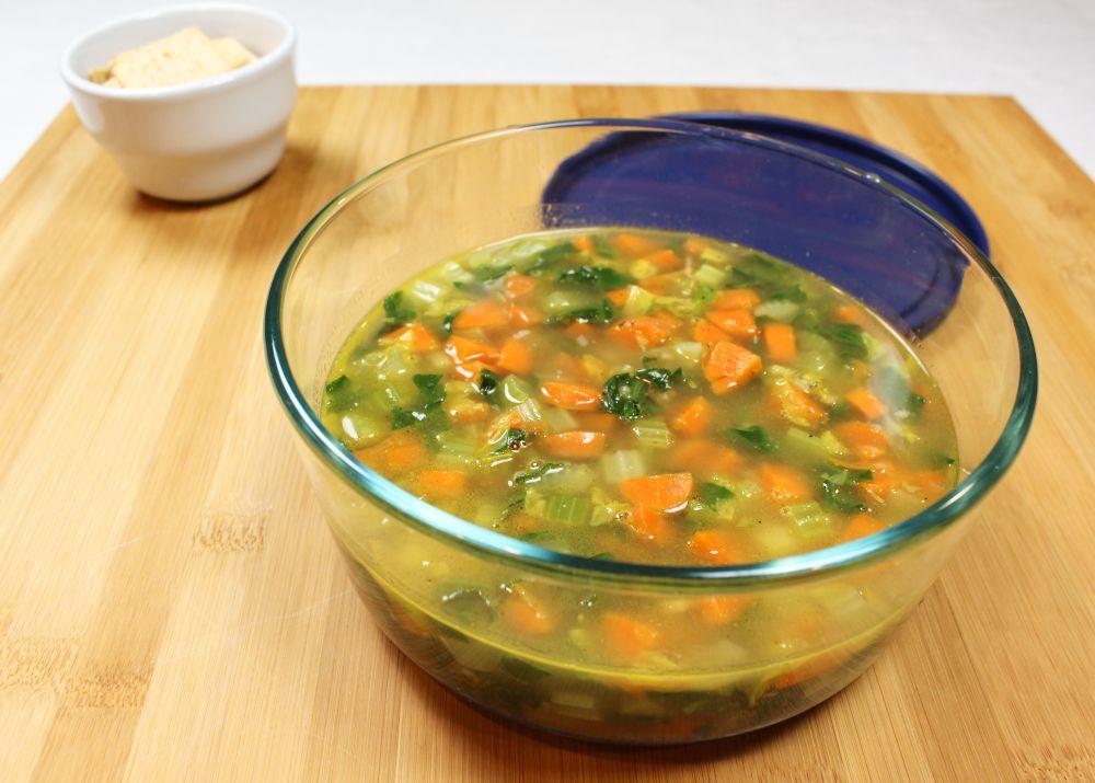 What's in the Fridge Veggie Soup Base